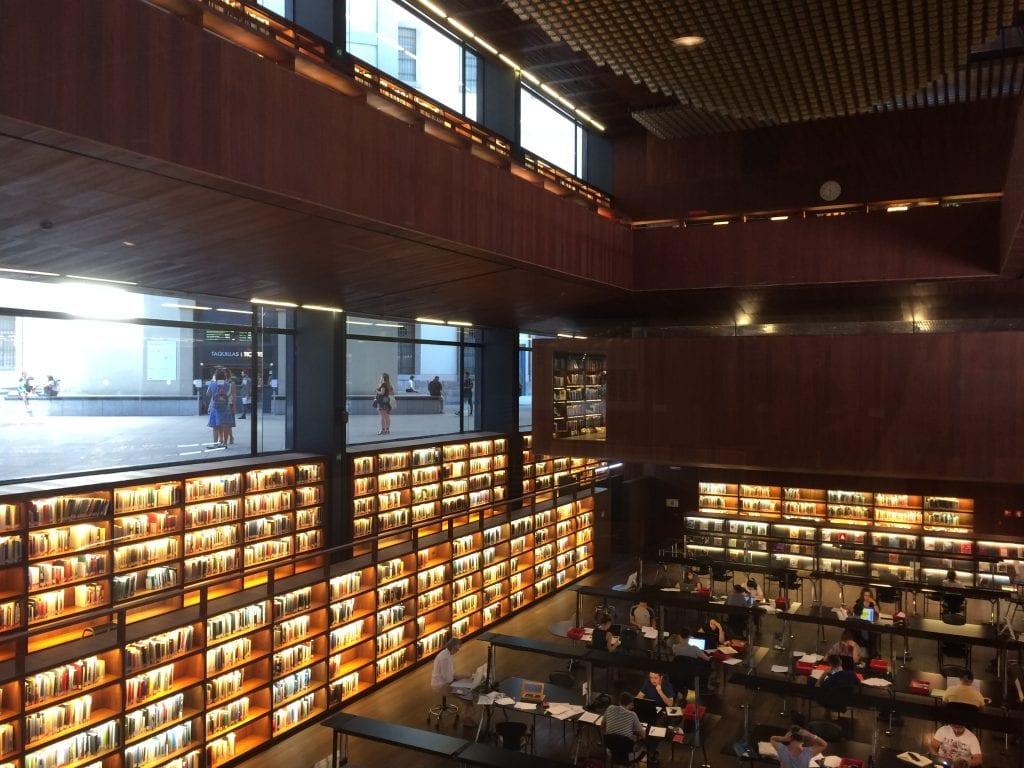 Reina Sofia Museum Library