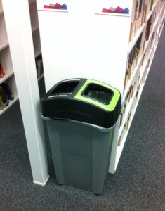 Our 'snazzy' new bins