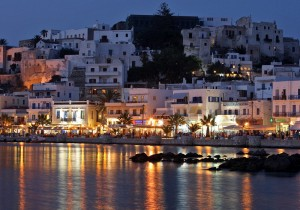 Nigh_view_of_beach_of_Naxos_island,_Greece