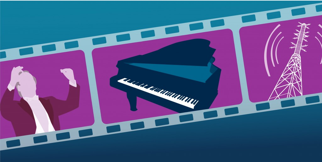 Explore the Library Service's Film, Music and Drama resources