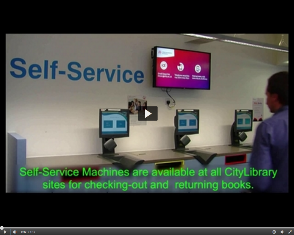 Self-Service Machines (Select image to link to video)