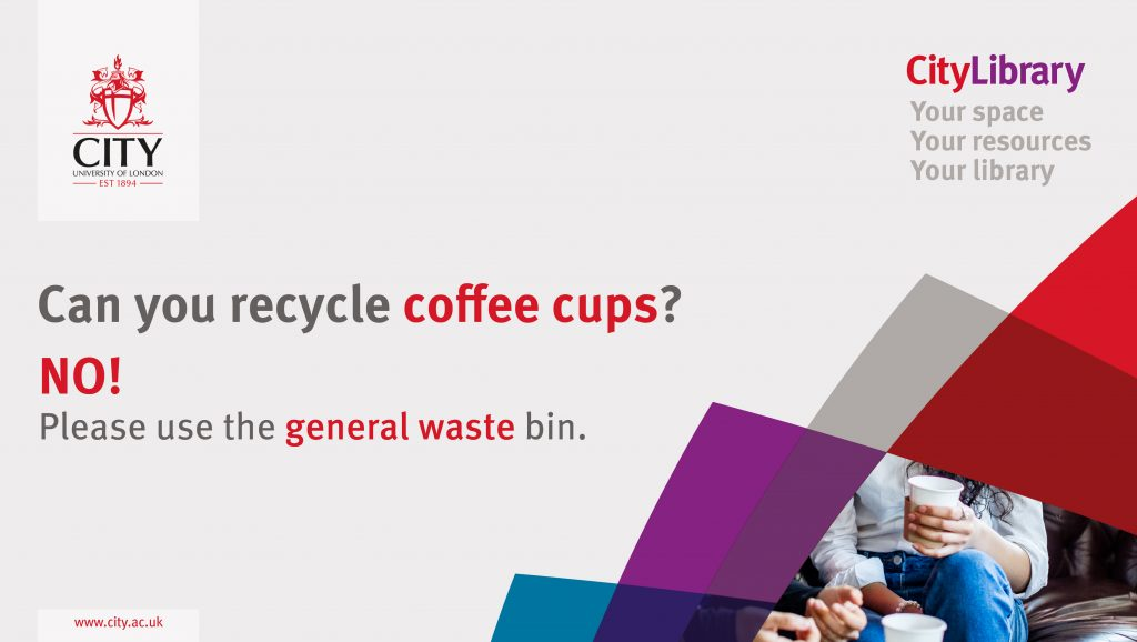 Can you recycle coffee cups? No