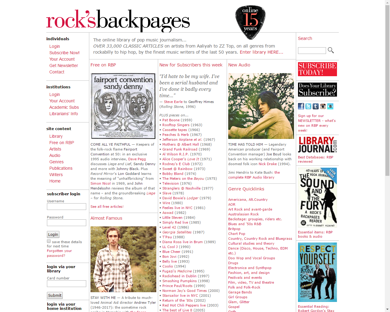 Backpages