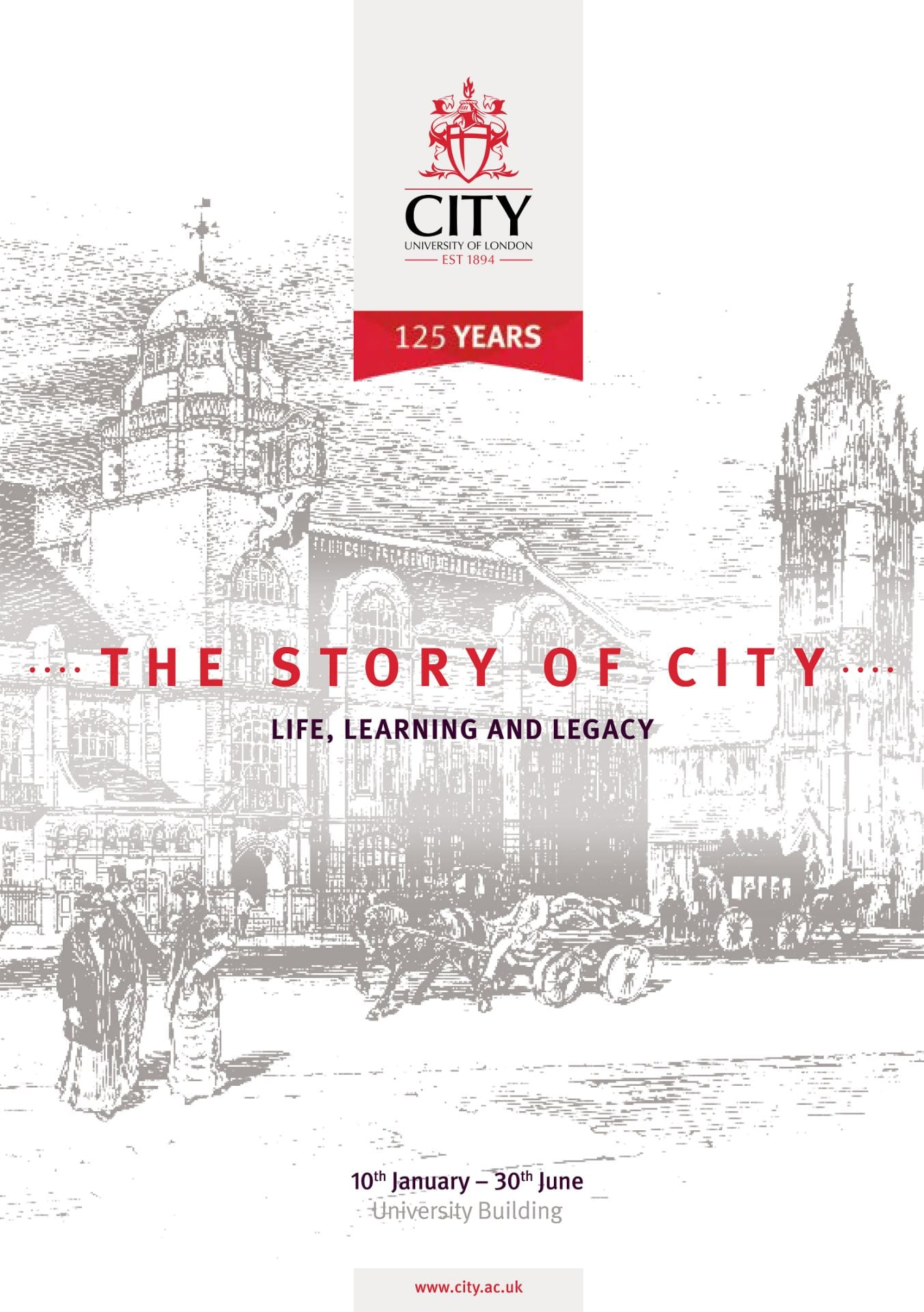 Celebrating 125 years of City