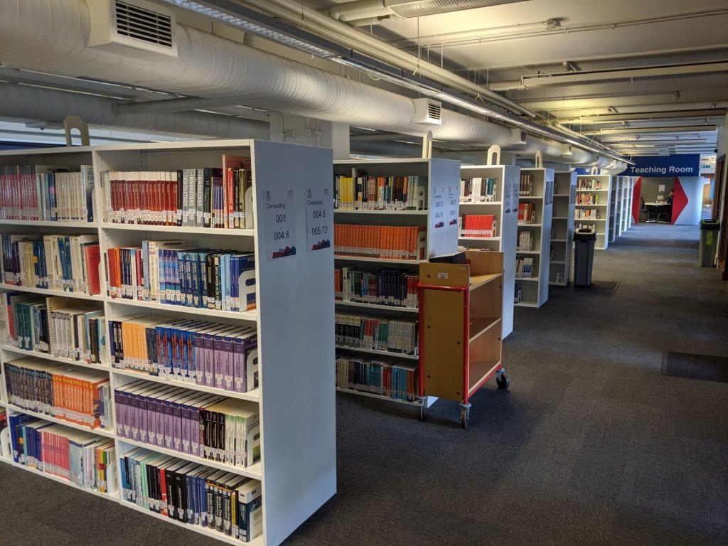 Books on Level 3 Northampton Square
