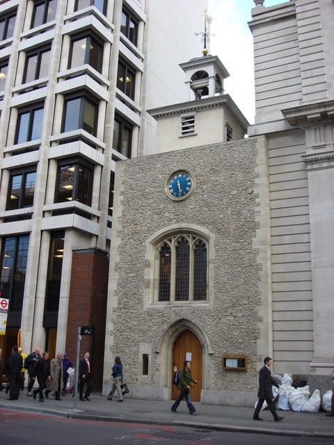 The church of St Ethelburga-the-Virgin within Bishopsgate. Source: Oxyman, reused under a CC BY-SA 2.0 license; available at https://www.geograph.org.uk/photo/571163