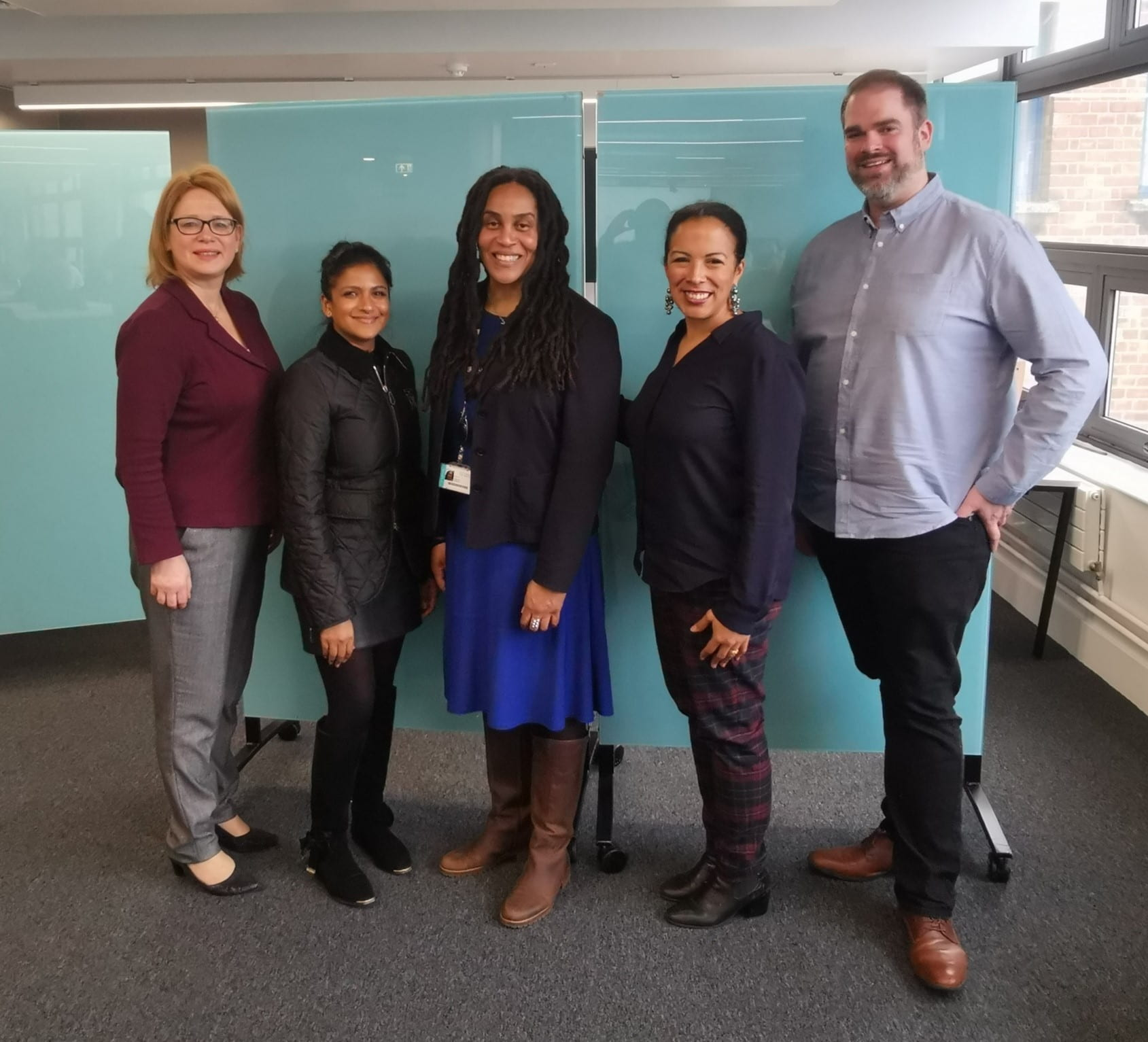 RECSAT Leadshersip Team with the inspiring Prof Marcia Wilson
