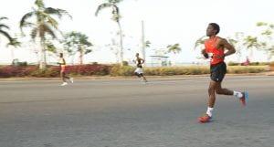 Mauro running