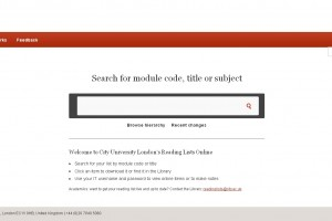 Reading List Online
