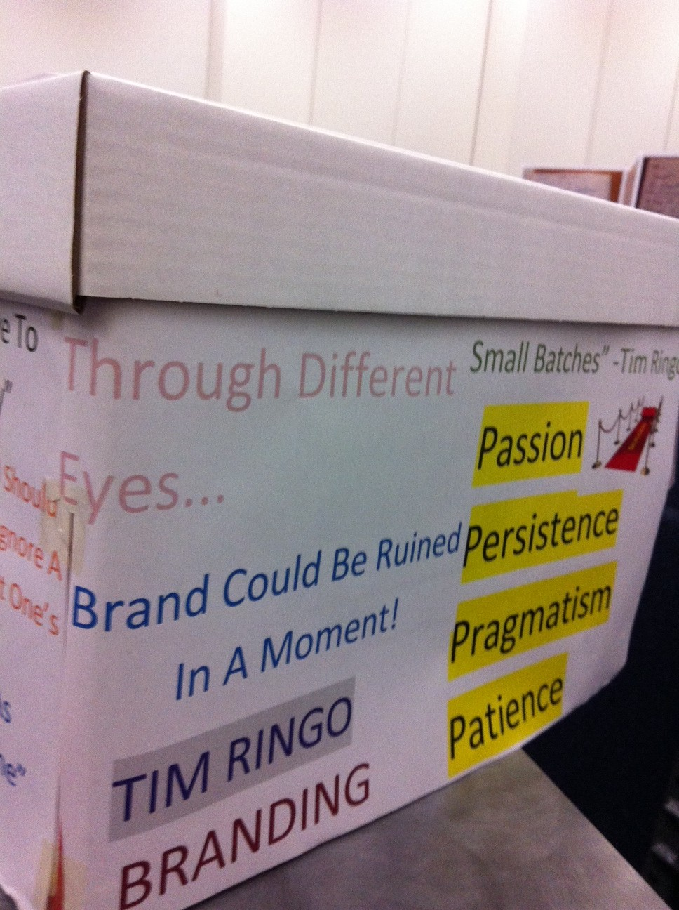Box demonstrating insights from guest speakers