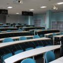 Swivel seating combined with fixed seating at University of Birmingham