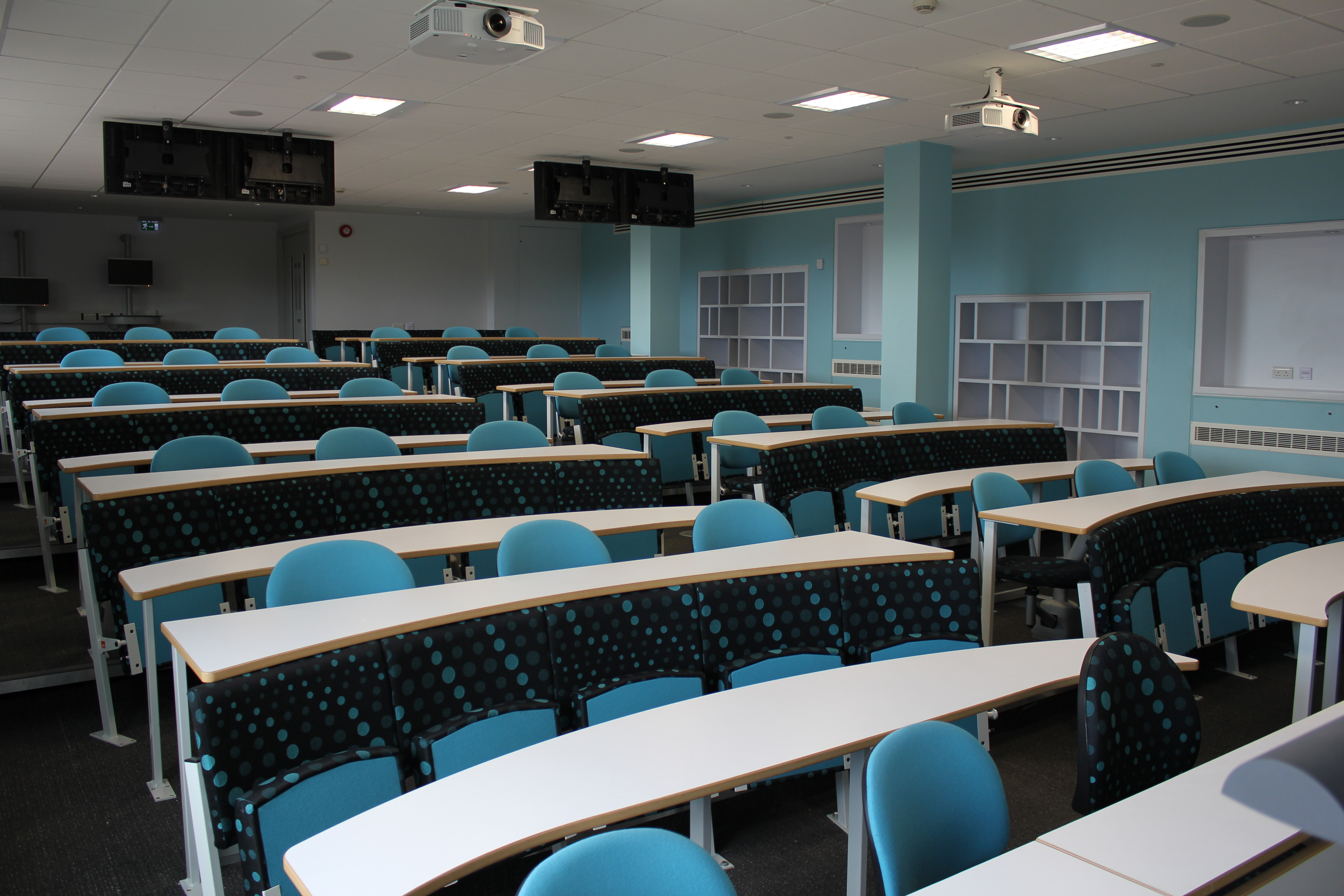 Educational Vignettes Swivel Seating In Lecture Theatres