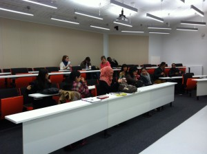 front of lecture theatre (2)