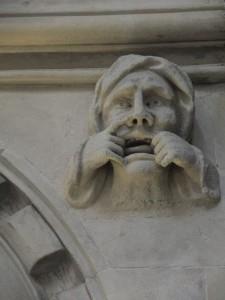 Gargoyle in Temple Church