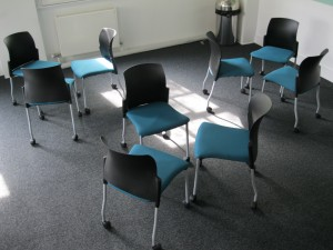 Castor Chairs in Threes