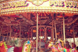 Carousel Ride at a Fair