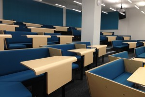 Cluster seating lecture theatre