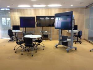 Room in Warwick's experimental teaching space
