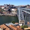 Porto lies on the River Douro, Portugal.