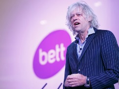 Sir Bob Geldof at BETT 2015