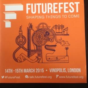 Image taken from Futurefest leaflet