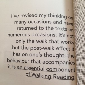 Reflections on the impact of the Walking Reading Group on thinking from the Walking Reading Group publication.