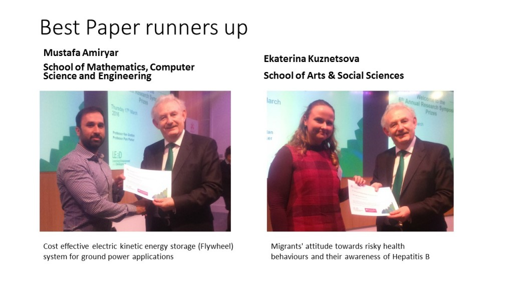 Best Paper runners up#2