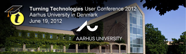 Turning Technologies User Conference 2012, Denmark