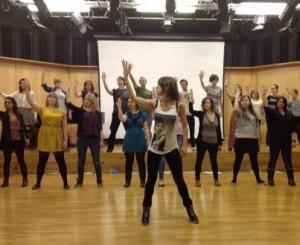 Kiss Me, Kate in rehearsal
