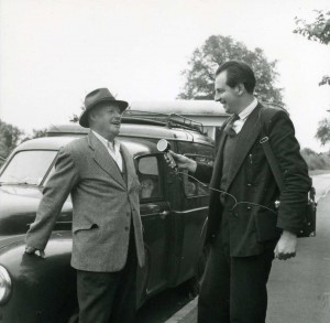 Peter Kennedy Records Edgar Allington in Weeting, Suffolk, 1955