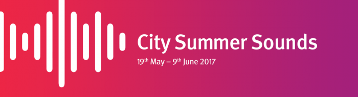 City Summer Sounds Logo