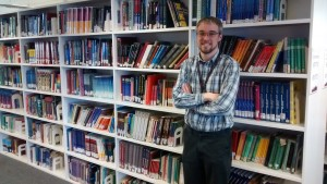 #citylis student and City University Library service assistant Dom Allington-Smith