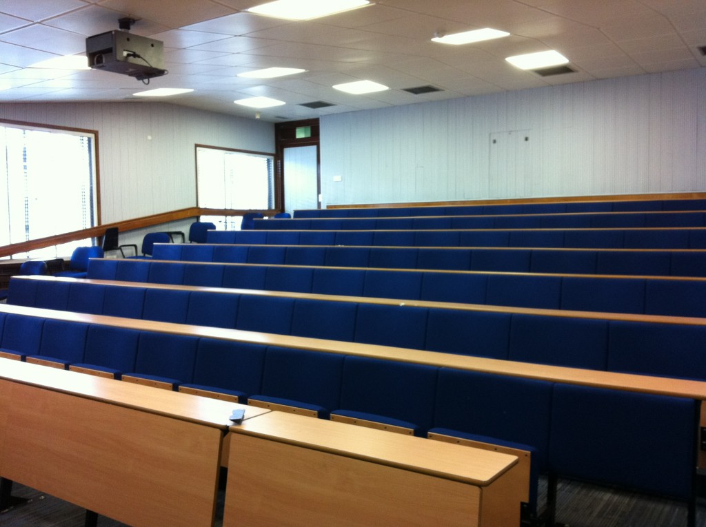 #citylis lecture theatre