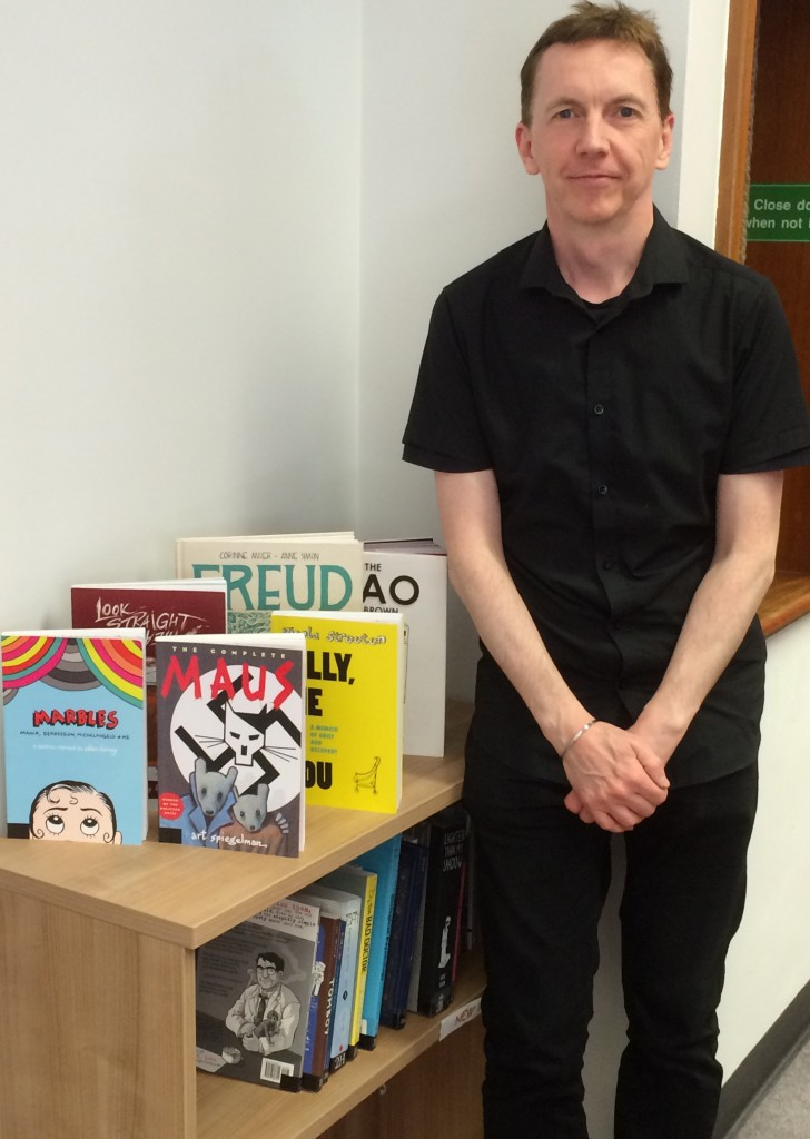 #citylis alumnus Anthony Farthing is Library Assistant with the Tavistock and Portman NHS Foundation Trust.