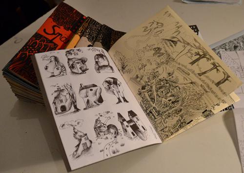 SPARADRAP! fanzine. (Source: Teratoiid, 2013.