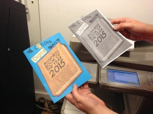 Photocopying makes for economic and speedy reproduction. Photo by Tristan Hooper