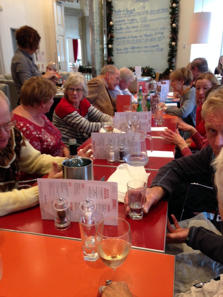 Members of the #citylis 1970-1971 MSc Information Science cohort attended a reunion lunch in London.