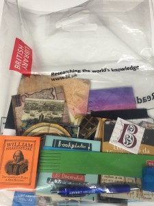 BL Labs Symposium Goody bag 2016