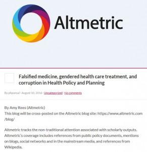 Altmetric Blog