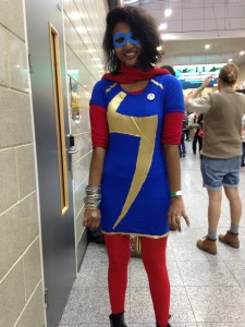 Cosplayer: Manisha as Kamala Khan (Ms Marvel), from Marvel comics. (A personal favourite character!) Manisha has been cosplaying for three years.