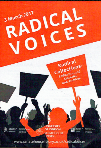 Image for Radical Voices at Senata House 2017