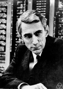 Claude Shannon by Konrad Jacobs CC BY-SA 2.0