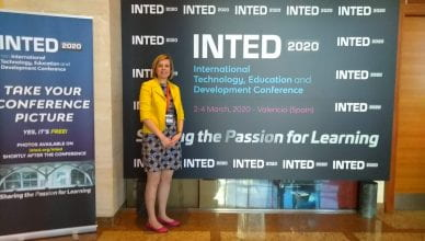 Jane at INTED in Valencia