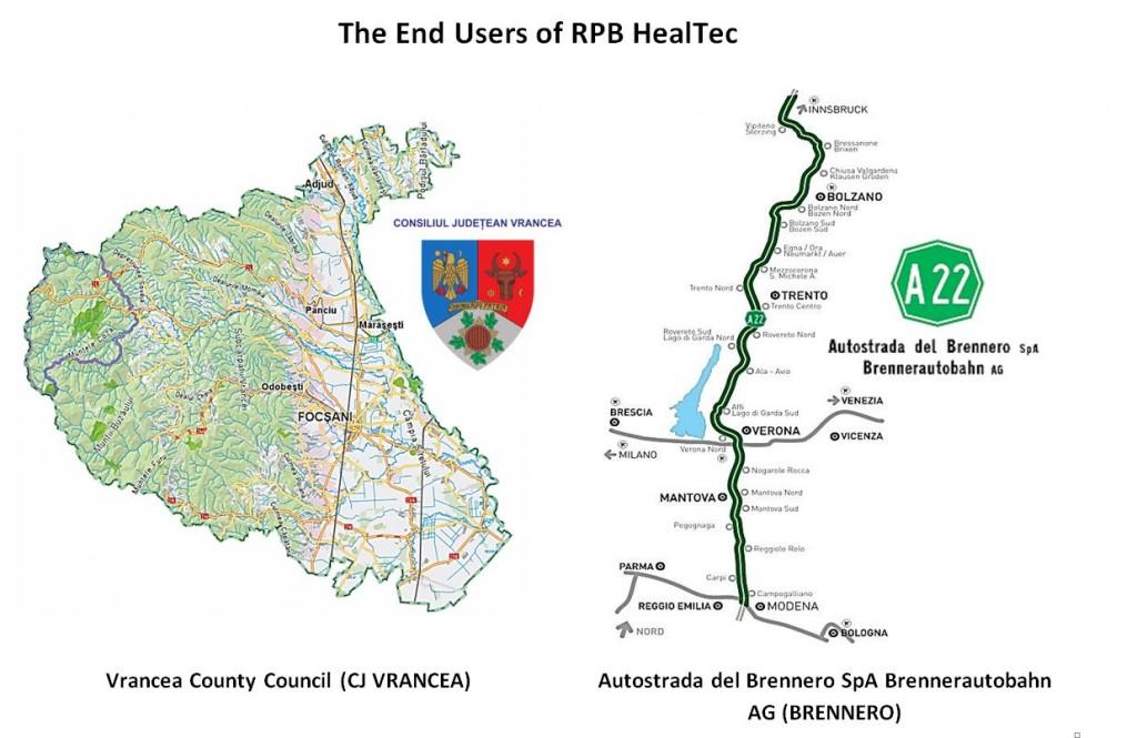 End Users of RPB HealTec