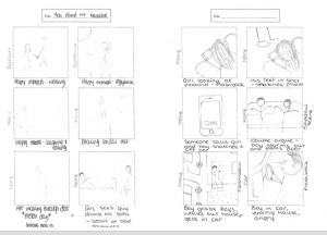 narrative storyboard 1
