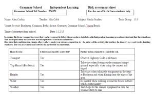 digipack risk assessment