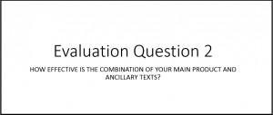 evalu q2