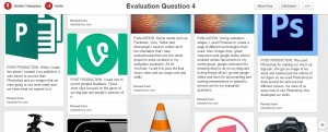 evaluation question 4 pinterest page