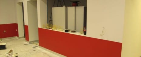 Colour has come to the Dubbing theatre!!! see the finished article http://tinyurl.com/soundtheatre