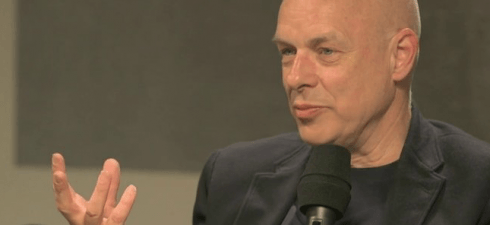 Brian Eno is always worth listening to. He is a very engaging speaker and his thoughts about art and music are extremely...